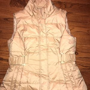 New York and company gold vest